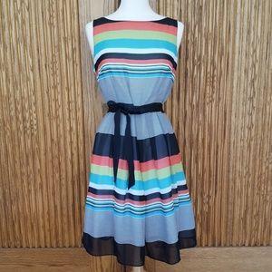 Dressbarn Striped Dress